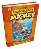 Kit Livro As Grandes Aventuras De Mickey+ Livro Maga  Min - Combo