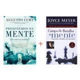 Kit Livro Prisioneiros da Mente +  Livro Campo de Batalha da Mente - Editora thomas nelson e bello