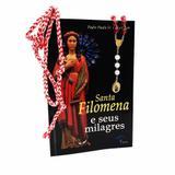 Kit Livro Terço e Cordão de Santa Filomena - Petrus