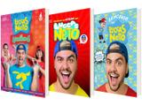 Kit Livros Brincando com Luccas Neto + Luccas Neto - em os Aventureiros + As Aventuras na Netoland