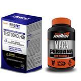 Kit mais testo Maca Peruana 60 Caps + Testodrol 60 tabs