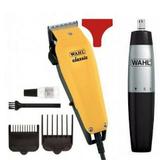 Kit Máquina Profissional Classic 110V Barba + Cabelo + Nariz Nasal Trimmer ref:004 - Whal