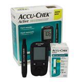 Kit medidor de glicemia accu-chek active - Roche