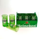 Kit Mini Engradado Heineken C/ 6 Copos 180 Ml Cerveja Verde - Dentinho