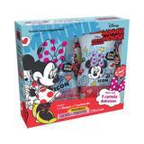 Kit minnie mouse cachos mais perfeitos - sh + cond + adesivo - Biotropic