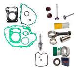 Kit Motor Titan 150 Bros 150 Fan Biela Rolamentos Vela Junta - Metal leve