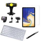 Kit Office Samsung Galaxy Tab S4 10.5 T830/T835 Suporte + Teclado + Película + Caneta - Armyshield