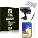 Kit Office Samsung Galaxy Tab S4 10.5 T835/T830 Suporte Mesa + Teclado Bluetooth + Película + Caneta - Armyshield