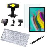 Kit Office Samsung Galaxy Tab S5e 10.5 T725 Suporte + Teclado + Película +Caneta - Armyshield