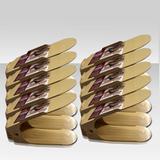Kit Organizador de Sapatos Rack Bege 10 Unidades - Clink