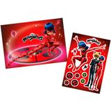 Kit Painel Decorativo Miraculous Ladybug Regina Festas