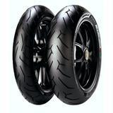 kit par Pneu 150/60-17 + 110/70-17 Pirelli Diablo Rosso 2