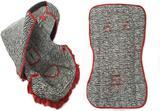 Kit para Bebe Conforto e Capa de Carrinnho Zebra com Vermelho - Alan pierre baby