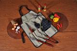 Kit para churrasco 8 pcs campeche - Mor