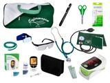 Kit para Enfermagem Super Luxo - Verde - Premium