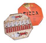 Kit para pizza 14 peças - Cor Vermelho - Tramontina