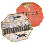 Kit para Pizza 14 Peças Tramontina em Inox