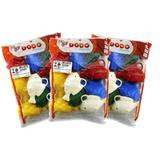 Kit Peixinho Plástico Para Pescaria, 3 Pacotes com 10 unidades cada - Dodo