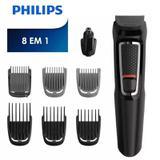 Kit Philips Barbeador E Aparador De Pelos Multigroom 8 Em 1