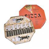 Kit Pizza Inox 14 Peças Tramontina