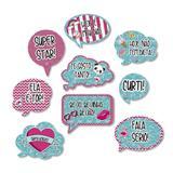 Kit Placas Decorativas Larissa Manoela 09 unidades Festcolor - Festabox