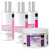 Kit Progressiva Sem Formol Smooth Healthy 300ml+Máscara 250g - Nuv  ruche