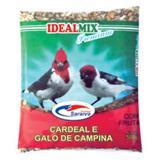 Kit Ração Cardeal E Galo De Campina - Com 10 Unidades - Idealmix