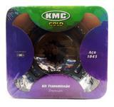 Kit Relação Transmissão Bros 150 KMC Com Retentor Aço 1045