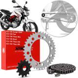 Kit Relação Transmissão Honda CG 150 Fan 09 A 15 Cg 150 Titan 04 A 11 Start 150 15 A 16 Vaz Xtreme