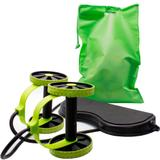 Kit Revoflex Roda Abdominal Musculação Xtreme + Vibroaction Cinta Vibratória Abdominal
