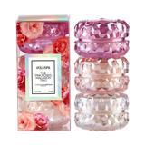 Kit Roses 3 Mini Velas Macaron Voluspa - Voluspa velas
