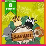 Kit Safari 08 Pessoas - Festabox