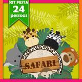 Kit Safari 24 Pessoas - Festabox