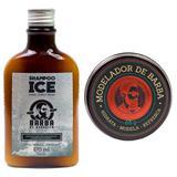 Kit Shampoo Ice + Modelador de Barba de Respeito