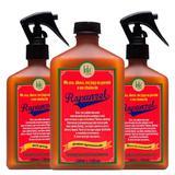 Kit Shampoo + Tratamento Antiqueda + Leave-in Lola Cosmetics Rapunzel