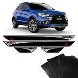 Kit Soleira Asx 2011/2018 Mitsubishi E Adesivo Protetor de Porta - Sportinox