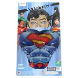 Kit Superman DC - Máscara e Peitoral - Liga da justiça