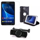 Kit Suporte Tablet Carro Galaxy Tab A 7.0' 2016 T280 T285 + Película Vidro +Capa Girat - Armyshield