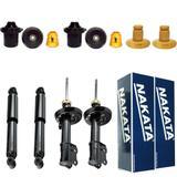 Kit suspensão completo nakata gm astra 1998/2012 - Kit - 4 amortecedores + kits (nakata)