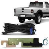 Kit Trava Elétrica Caçamba Ford Ranger 2003 a 2011 2 Portas em Aço Resistente - Dial