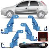 Kit Trava Elétrica Corsa Hatch Sedan 2003 a 2012 4 Portas Mono Serventia Dedicada - Dial
