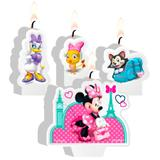 Kit Vela Plana Minnie Rosa - Festabox