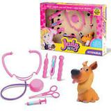 Kit Veterinária Judy Pet Cuide Do Seu Cãozinho - Samba toys