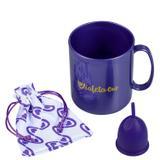 Kit Violeta Cup Tipo B Violeta (2 Produtos)