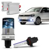 Kit Xênon Completo HB4 8000K Farol Milha Polo Hatch 07 A 13 Tonalidade Azulada Reator Anti Flicker - Prime