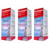 Kuramed Spray Antisséptico Tópico 50ml (Kit C/03)