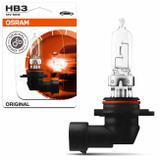 Lâmpada Halógena Osram Standard HB3 3200K 12V 60W 1700LM Aplicação Farol Original