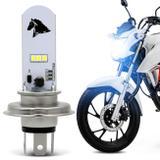 Lâmpada Super LED Honda CG 160 2015 2016 2017 2018 2019 H4 8000K 35W Luz Azulada Farol Alto ou Baixo - St