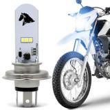 Lâmpada Super LED Honda NXR 160 14 15 16 17 18 19 H4 8000K 35W Luz Azulada Farol Alto ou Baixo - St