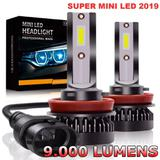 Lampada Super Ultra Led H7 9000 Lumens Turbo 6000k - Dmx
